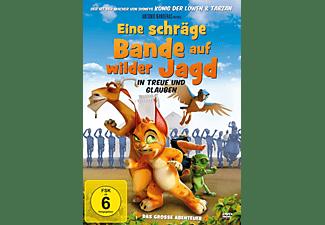 Schlau wie ein Luchs / Eine schräge Bande auf wilder Jagd DVD