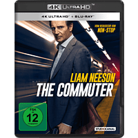 The Commuter 4K Ultra HD Blu-ray + Blu-ray