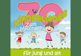 VARIOUS - 70 Kinderlieder zum Mitsingen für Jung und Alt  - (CD)