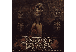 Jigsore Terror - World End Carnage - (CD)