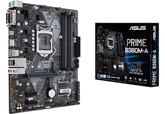 ASUS Prime B360M-A Mainboard, Schwarz