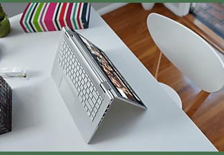 HP PAVILION X360 14-BA131NG, Convertible mit 14 Zoll Display, Core™ i7 Prozessor, 12 GB RAM, 256 GB SSD, GeForce MX 130, Silber/Schwarz
