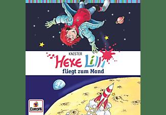 Hexe Lilli - 015/fliegt zum Mond  - (CD)