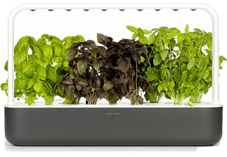CLICK & GROW Tuinpot Smart Garden 9 Zwart (CG-SG9GREY)