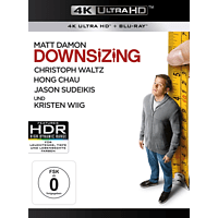 Downsizing [4K Ultra HD Blu-ray + Blu-ray]