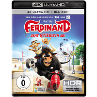 Ferdinand: Geht STIERisch ab! [4K Ultra HD Blu-ray + Blu-ray]