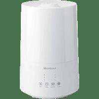 MEDISANA 60052 AH 661 Luftbefeuchter Weiß (75 Watt, Raumgröße: 30 m²)