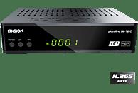 EDISION Piccollino Receiver (HDTV, PVR-Funktion, DVB-T2 HD, DVB-C, DVB-C2, DVB-S, DVB-S2, Schwarz)