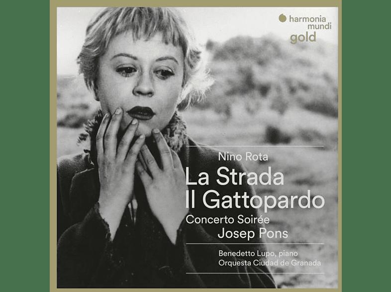PONS & ORQ.CIUDAD DE GRANADA - La Strada/Il Gattopardo [CD]