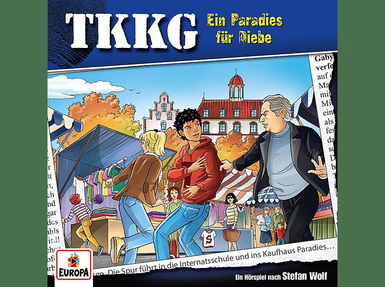 Tkkg - Ein Paradies für Diebe (202) - (CD)