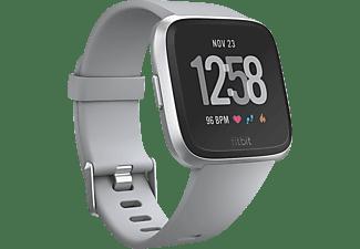 la mejor actitud 8fc57 ff406 Reloj deportivo - Fitbit Versa, GPS, Sumergible, Ritmo cardíaco, Gris