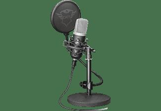 TRUST GXT 252 Mikrofon, Schwarz