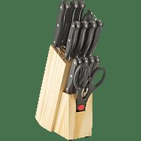 ECHTWERK EW-SM-0199B  Messer-Set 14-tlg. + Holzmesserblock