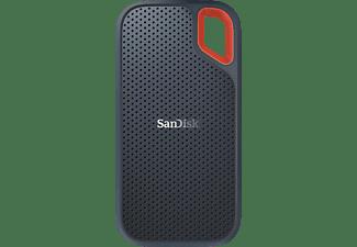 SANDISK Extreme® Portable SSD 500 GB, 500 GB SSD, 2,5 Zoll, extern, Grau