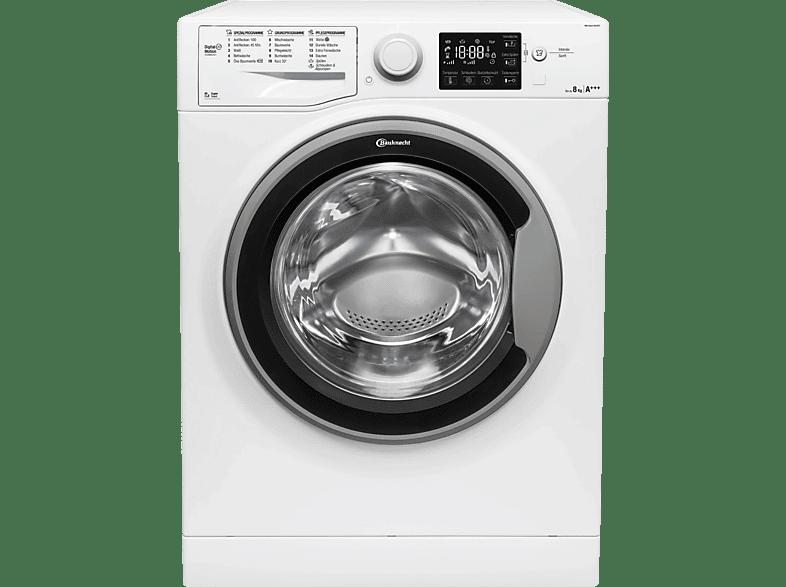 BAUKNECHT WM SENSE 8G43PS Waschmaschine (8 kg, 1400 UMin., A+++)