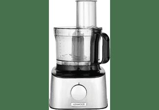 Robot de cocina - Kenwood FDM301SS Multipro Compact, 800 W, 2.1 L, 5 funciones, 2 velocidades