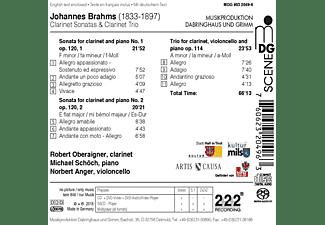 Oberaigner,Robert/Schöch,Micha - Klarinettenson.op.120 & Klarinettentrio op.114  - (SACD Hybrid)