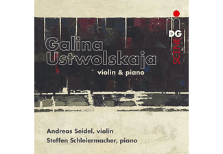 Seidel,Andreas/Schleiermacher, - Werke für Violine und Klavier  - (CD)