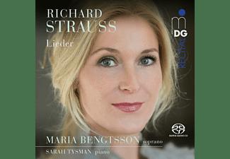 Bengtsson,Maria/Tysman,Sarah - Lieder  - (SACD Hybrid)