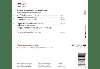 Eduard Kutrowatz, Johannes Kutrowatz - Sinfonische Dichtungen Für 2 Klaviere  - (CD)