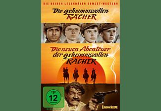 Die geheimnsivollen Rächer & Die neuen Abenteuer der geheimnisvollen Rächer DVD