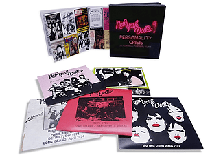 New York Dolls - Personality Crisis Live Recordings & Studio Demos 1972-1975 (CD)