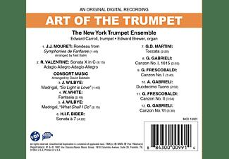 Edward Carroll, Edward Brewer, New York Trumpet Ensemble - Art Of The Trumpet  - (CD)