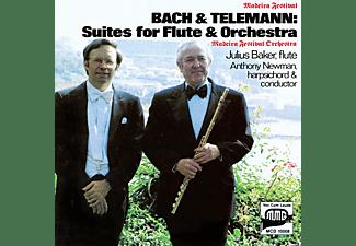 Julius Baker, Madeira Festival Orchestra - SUITEN FÜR FLÖTE UND ORCHESTER  - (CD)