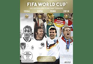 FIFA WORLD CUP 54 * 74 * 90 * 14 - Die offiziellen Filme der Turniere Blu-ray