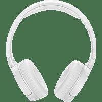 JBL TUNE600BTNC, On-ear Kopfhörer Bluetooth Weiß