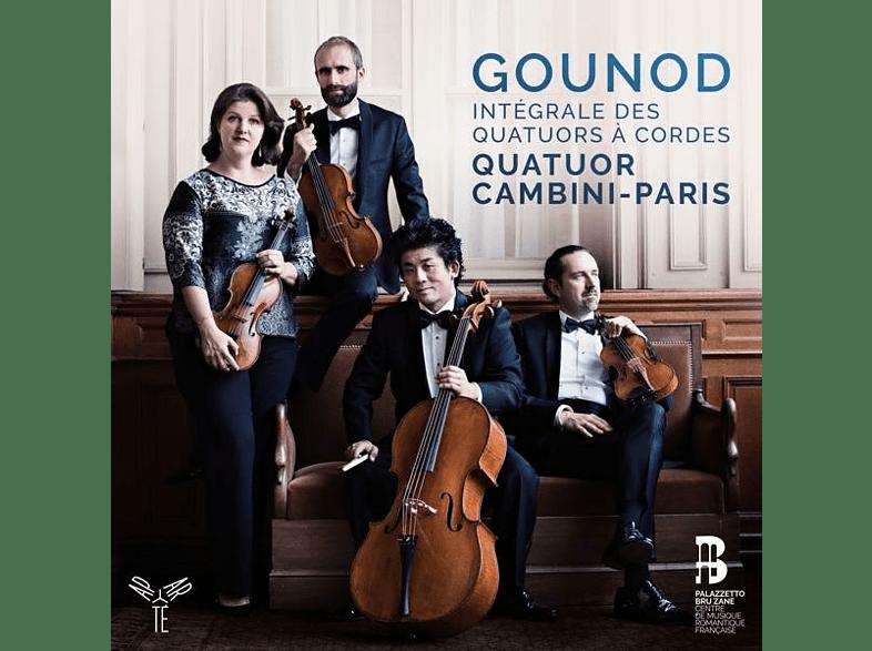 Quatuor Cambini Paris - Sämtliche Streichquartette [CD]