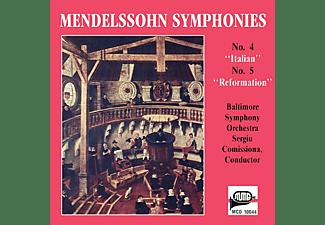 "Baltimore Symphony Orchestra - Mendelsohn Symphonies: No. 4 ""Italian"" / No. 5 ""Reformation""  - (CD)"