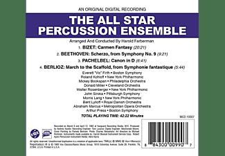 The All Star Percussion Ensemble - The All Star Percussion Ensemble  - (CD)