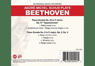 André-michel Schub - Klaviersonate 23 Appassionata/3 op.2  - (CD)