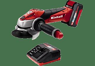 EINHELL Akku Winkelschleifer der Power X Change Serie TE AG 18 Li Kit