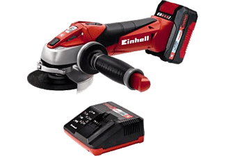 EINHELL Akku Winkelschleifer der Power X Change Serie TE AG 18 Li Kit