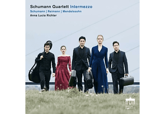 Anna Lucia Richter, Schumann Quartett - Intermezzo  - (CD)
