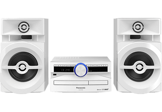 PANASONIC SC-UX 104 EG-K  Kompaktanlage (Weiß)