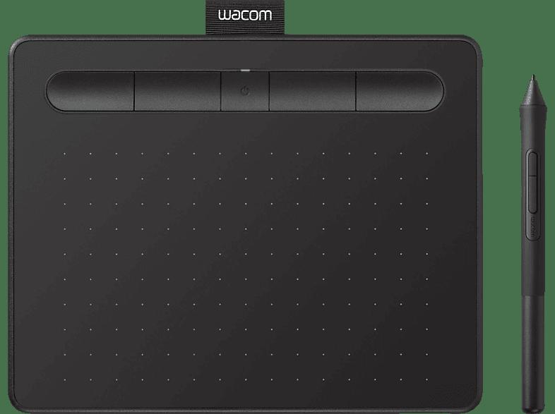 WACOM Intuos S mit Bluetooth Grafiktablet, Schwarz