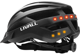 LIVALL LIVALL MT 1 (Smarter Fahrradhelm, 58-61 cm, Schwarz Matt)