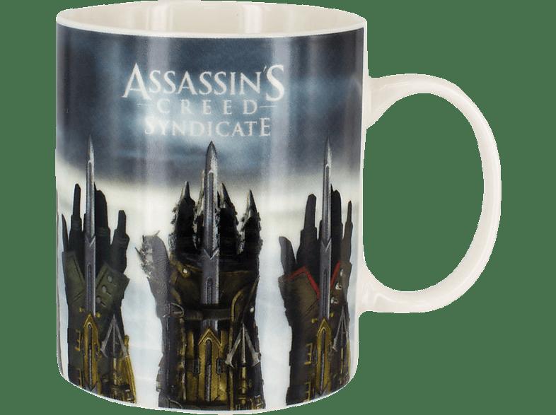 PALADONE PRODUCTS Assassins Creed Becher Farbwechsel 300ml Tasse, Weiß