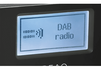 PEAQ PDR 260 B Internetradio, Internet, DAB+, FM PLL Radio, DAB+, DAB, Internet Radio, FM, Schwarz/Grau