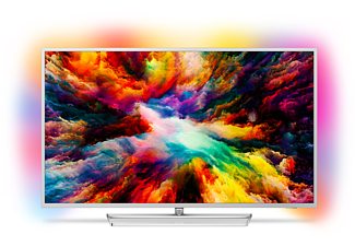 PHILIPS 55PUS7363 LED TV (Flat, 55 Zoll / 139 cm, UHD 4K, SMART TV, Ambilight, Android TV)