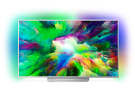 PHILIPS 65PUS7803 LED TV (Flat, 65 Zoll/164 cm, UHD 4K, SMART TV, Ambilight, Android Nougat)