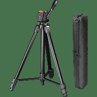 HAMA Delta Duo 170 Dreibein Stativ, Schwarz, Höhe offen bis 1700 mm