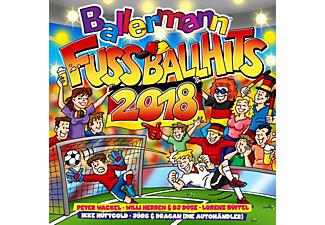 VARIOUS - Ballermann Fußball Hits 2018  - (CD)