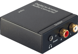DYNAVOX Mini-DAC Digital/Analog-Wandler, Schwarz