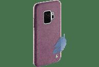 HAMA Cozy , Backcover, Samsung, Galaxy S9, Silikon/Textilbezug, Pink