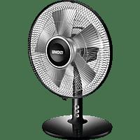 UNOLD 86817 Tischventilator Schwarz/Silber (25 Watt)