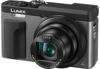 PANASONIC DC-TZ 91 EG-S SILBER Digitalkamera Schwarz/Silber, 30x opt. Zoom, TFT-LCD, WLAN
